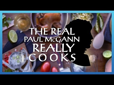 The Real Paul McGann Really Cooks
