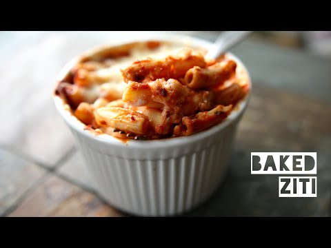Healthy Low Calorie Baked Ziti Recipe | How To Make High Protein Low Fat Baked Ziti