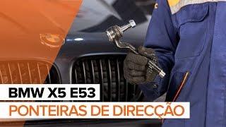 Substituição Filtro de Combustível BMW X5: manual técnico