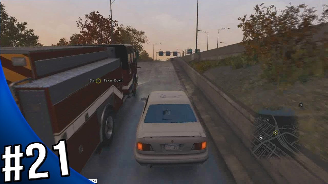 How To Get A Firetruck In Watch Dogs