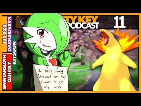 The Shifty Key Podcast 11 - Late Night Pokémon Romance