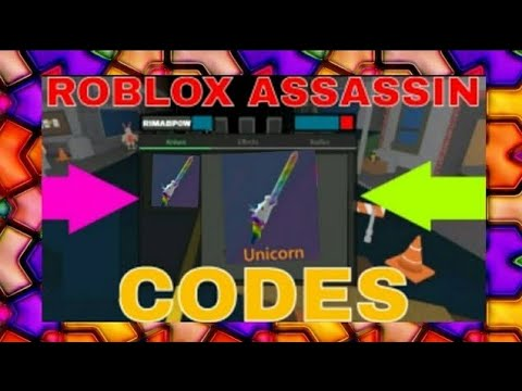 Roblox Assassin Codes New 2019 Youtube
