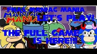 Five Nights At Sonic's Maniac Mania Full Game Part 1