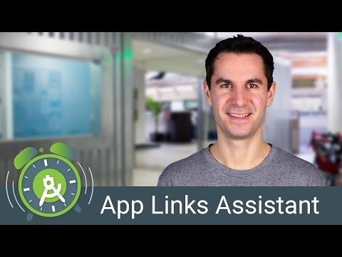 App Links Assistant in Android Studio 2.3 - Android Tool Tim
