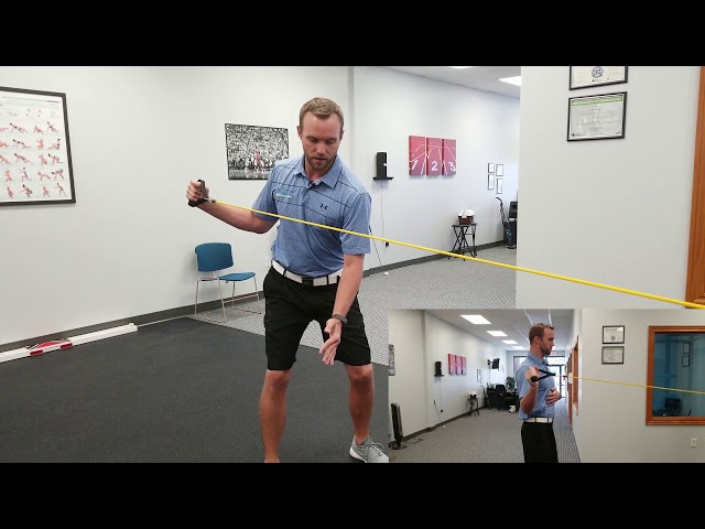 Shoulder ER for the Backswing | Rotator Cuff Exercise | Chesterfield Chiropractor