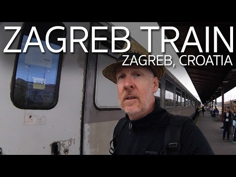 Spending All My Money Before the Train from Belgrade to Zagreb