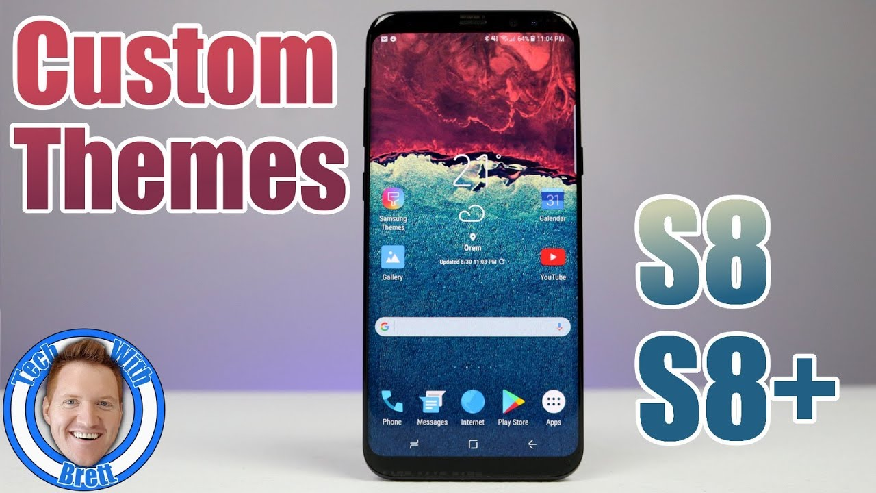 Custom Themes Icons Wallpapers On Galaxy S8 Or S8 Youtube