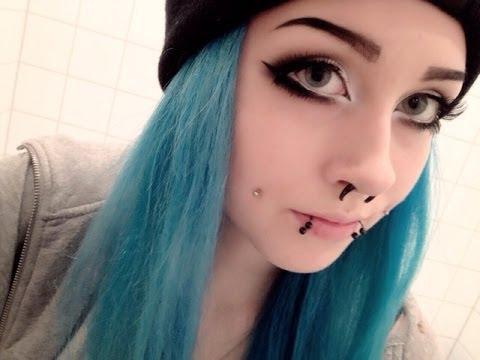 Full 'Emo/Scene/Alternative' Makeup