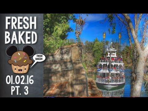 Amazing views and some Rivers of America rumors | 01-02-16 Pt. 3