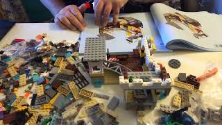 man cave toys and games and r2d2  builds lego creator