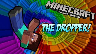 Minecraft Pocket Edition | THE DROPPER!! | 0.9.4
