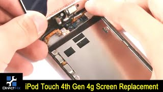 how to ipod touch 4th gen 4g screen replacement
