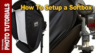 How To Setup a Softbox