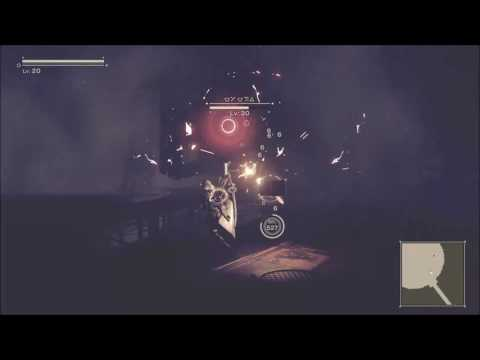 NieR Automata #19 SPIDER BOSS RND 2 -  CAMP UNDER ATTACK