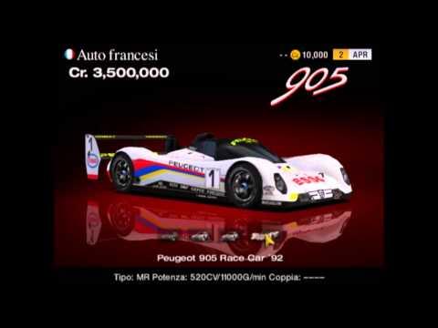 Gran Turismo 4 classic cars FRANCE