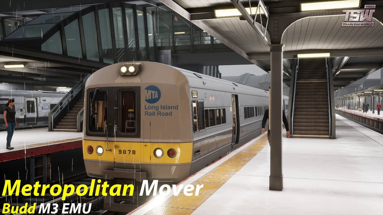 Metropolitan Mover : Long Island Rail Road : Train Sim World 2020