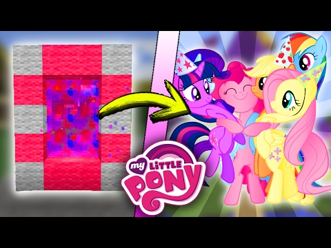 how to make a portal to my little pony