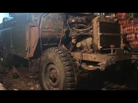 Мутим Hunter/ УАЗ 469 1992г/Свап змз 409/ Часть 1