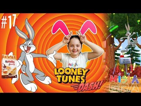 MISIA GRA - LOONEY TUNES DASH - BUGS BUNNY Z SUPER NAGRODĄ!!!