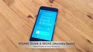 Young Dumb & Broke Ringtone (Khalid Tribute Marimba Remix Ringtone) • For iPhone & Android