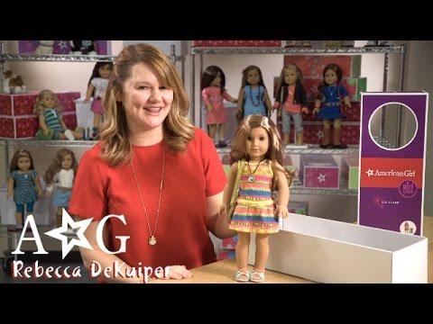 Hint #6 - Girl Of The Year   Rebecca DeKuiper, American Girl Designer   American Girl