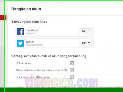 Cara menghubungkan Twitter ke Facebook Subscribe untuk melihat tutorial berguna lainnya:....