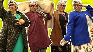 فوزي موزي وتوتي – ملابس جديدة للتيتا فوزية - Teta Foziya's new outfit