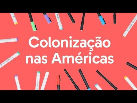 COLONIZAÇÃO DA AMÉRICA | QUER QUE DESENHE | DESCOMPLICA