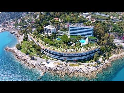 W K A Bordighera Grand Hotel Del Mare Riprese Drone Dji Mavic Pro Youtube