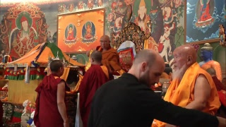 Long Life puja for Ven.Lama Niytrul Tulku Rinpoche and Lama Gangchen Rinpoche (Tibetan – English) – 20 May 2018