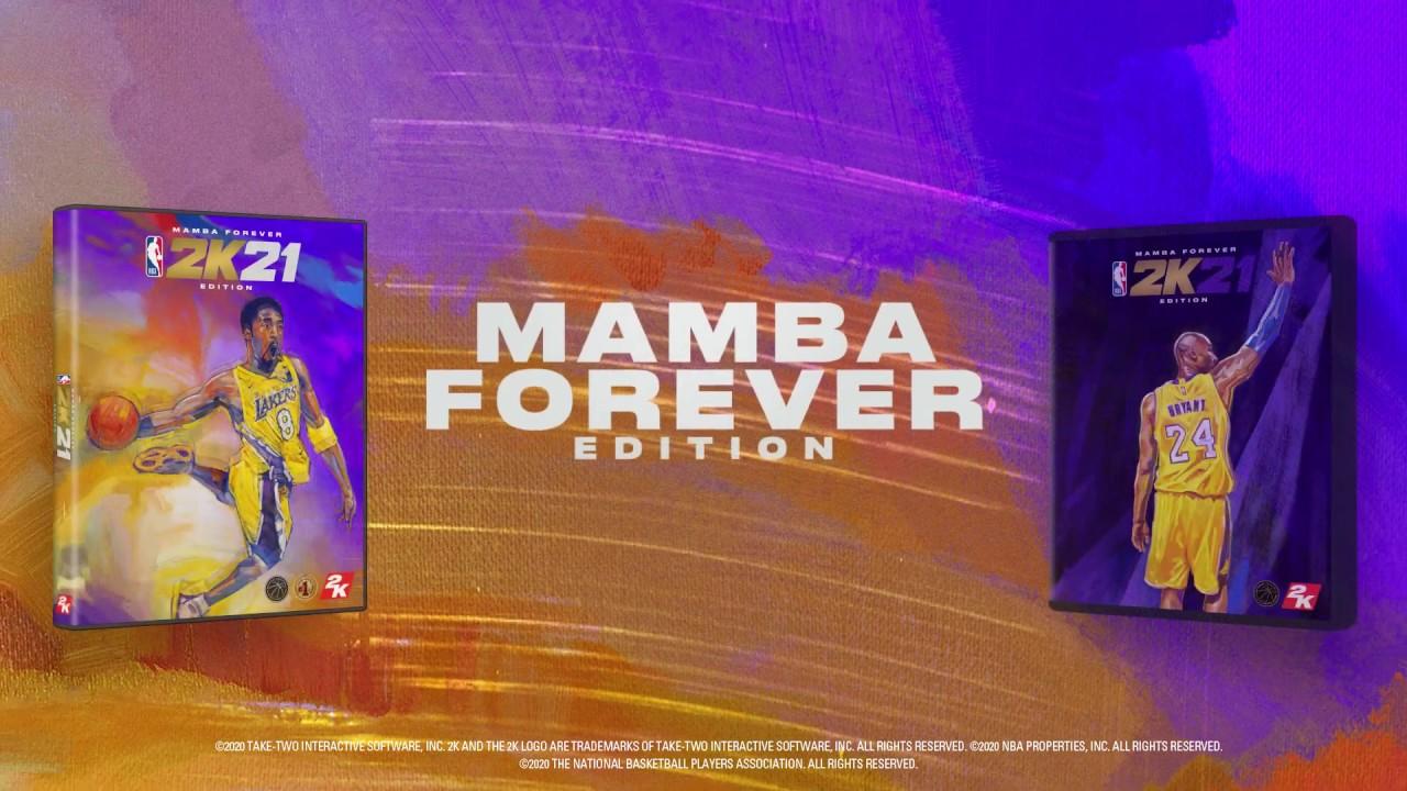PS4, PS5 I NBA 2K21 - 코비 브라이언트를 기리며 맘바 포에버 에디션을 준비했습니다.