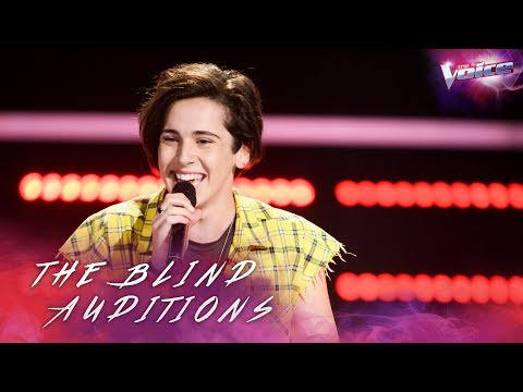 Aydan Calafiore sings Despacito | The Voice Australia 2018
