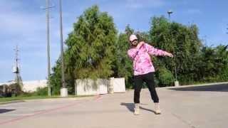 WHITE BOY CHRIS KILLIN IT! | HIT THE DAB | NEW DANCE!! @6Billionpeople