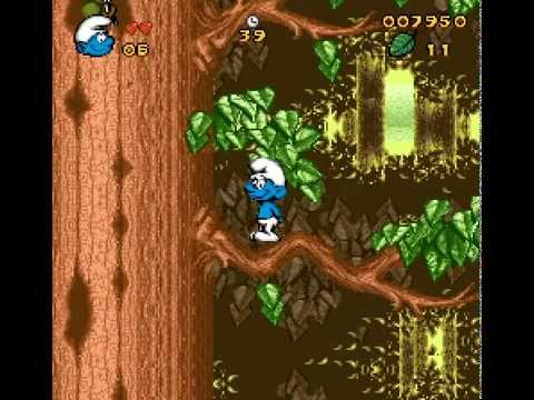 SNES Longplay [392] The Smurfs