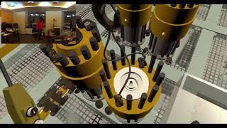 Разборка компрессора в виртуальной реальности