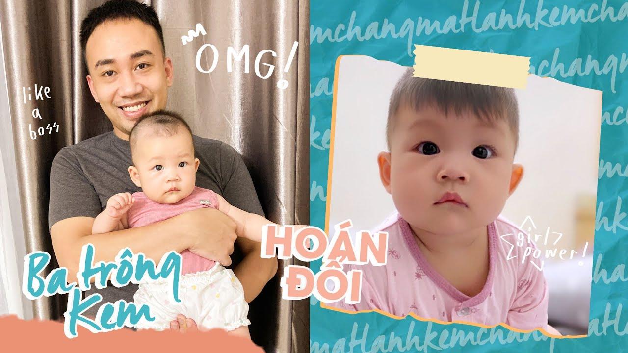 Một ngày hoán đổi - Sẽ thế nào khi ba Nam thay mẹ trông em bé Kem?