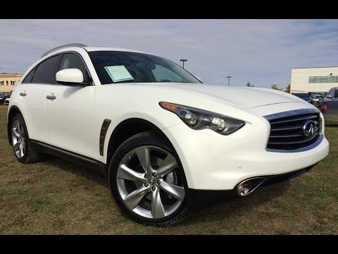 Pre Owned White 2013 Infiniti Fx50 Awd In Depth Review