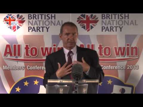 Dr Tom Sunic Speaks at  British National Party's Members' Conference 2013