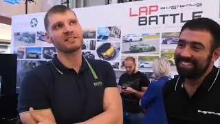 Две от най-бързите коли в Overdrive Lap Battle гостуват в столичен мол