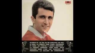 Marcel Amont - Colombine et Saxo - Du 33t POLYDOR 46.152 sorti en 1964