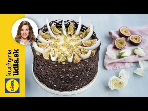 Čokoládová torta s marakujou a kokosovým krémom 🍫 | Veronika Bušová | Kuchyna Lidla