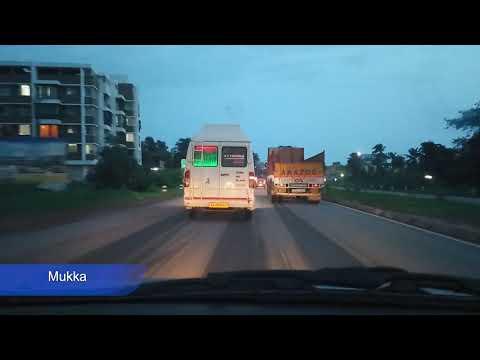 Udupi To Mangaluru Road Map Time Lapse