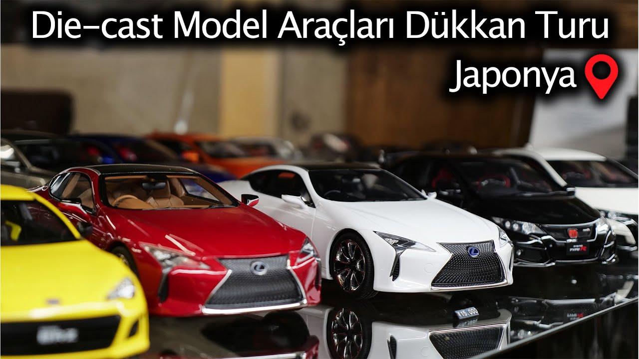 Acayip Detaylı Die-Cast Model Araçları | Japon Dükkanı Turu | Japonic
