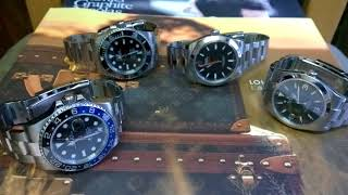 TALKING WATCHES WITH SCOTTY -Perfect Current Model Rolex Sports Watch Collection