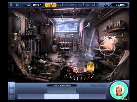Amazing Criminal Case   Case 20 Scene 3 Creepy Basement