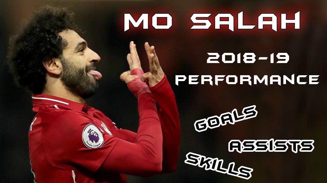 Mohamed Salah Performance 2018-19 Half season - Goals ...