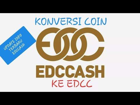 CARA KONVERSI COIN EDCCASH KE EDCC
