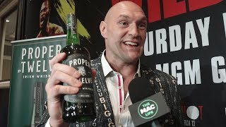 Conor McGregor sends Tyson Fury a bottle of Proper 12 ahead of Deontay Wilder rematch