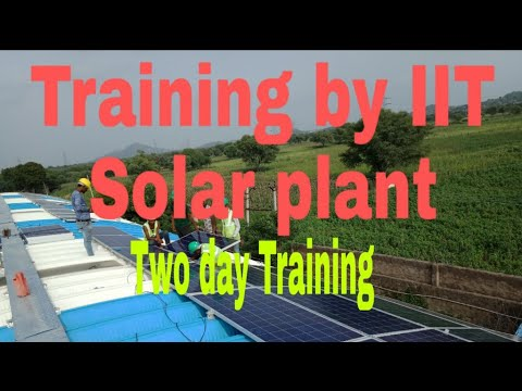 SOLARIZER-Two day solar training programme for students @ IIT Bombay