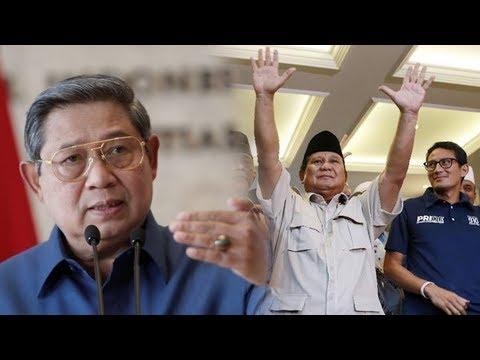 Isi Surat SBY untuk Kader Demokrat & Instruksi agar Pejabat Partai Tidak ke Kantor BPN Prabowo Lagi